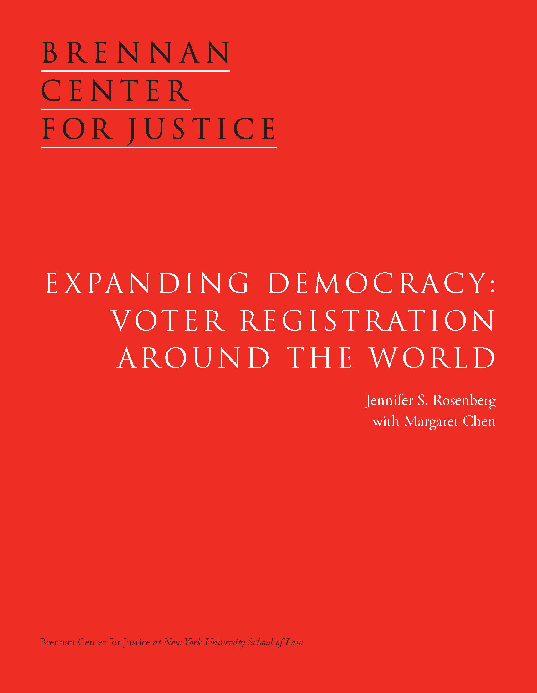 Democracies Around The World Around The World Brennan