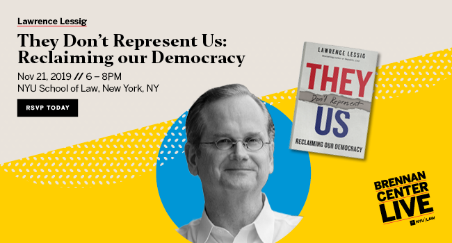 """Lawrence Lessig: """"They Don't Represent Us: Reclaiming our Democracy"""""""
