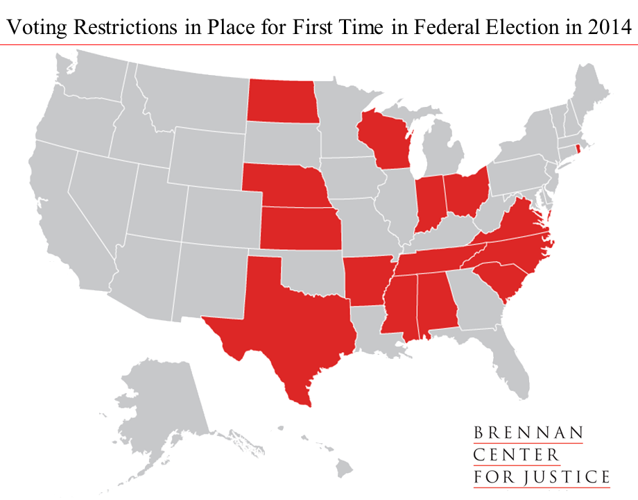 Voting Restrictions 2014