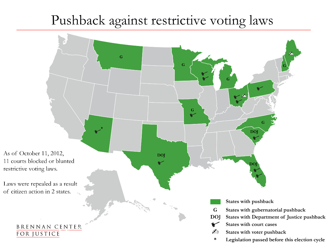 Lawsuits Over Voting Restrictions