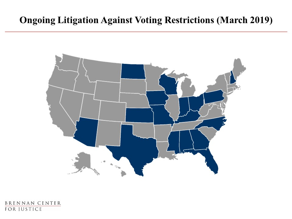 The State of Voting Rights Litigation (March 2019) | Brennan