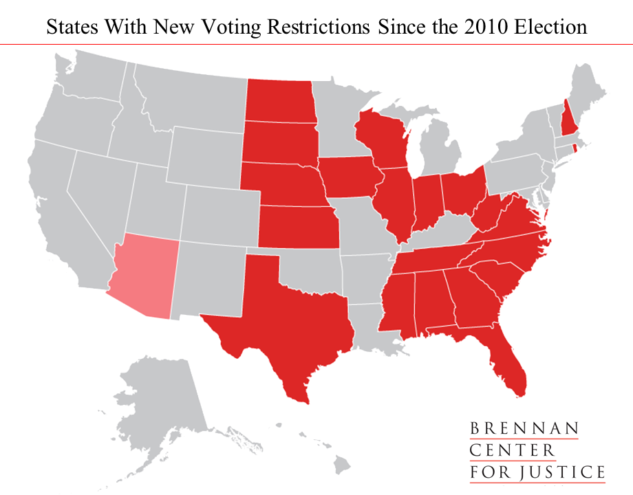 New Voting Restrictions In America Brennan Center For Justice