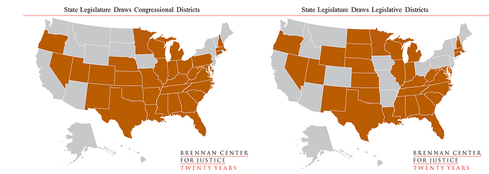 Courts Also Sometimes Draw Maps Of Their Own To Remedy Legal Violations In Maps Passed By The Legislature A Handful Of States Likewise