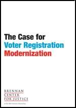 Case for voter registration modernization