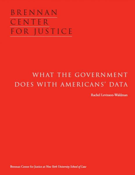 What the Government Does with Americans' Data