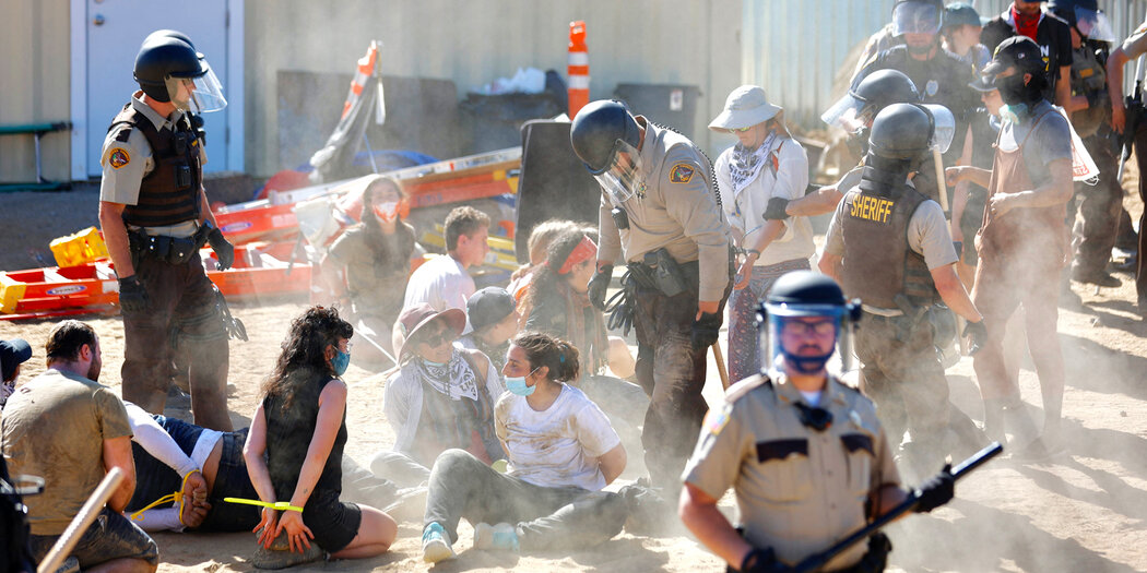 How an Oil Company Pays Police to Target Pipeline Protesters