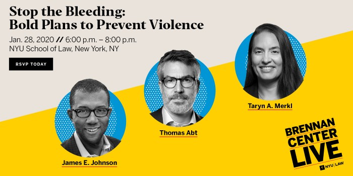Bold Plans to Prevent Violence