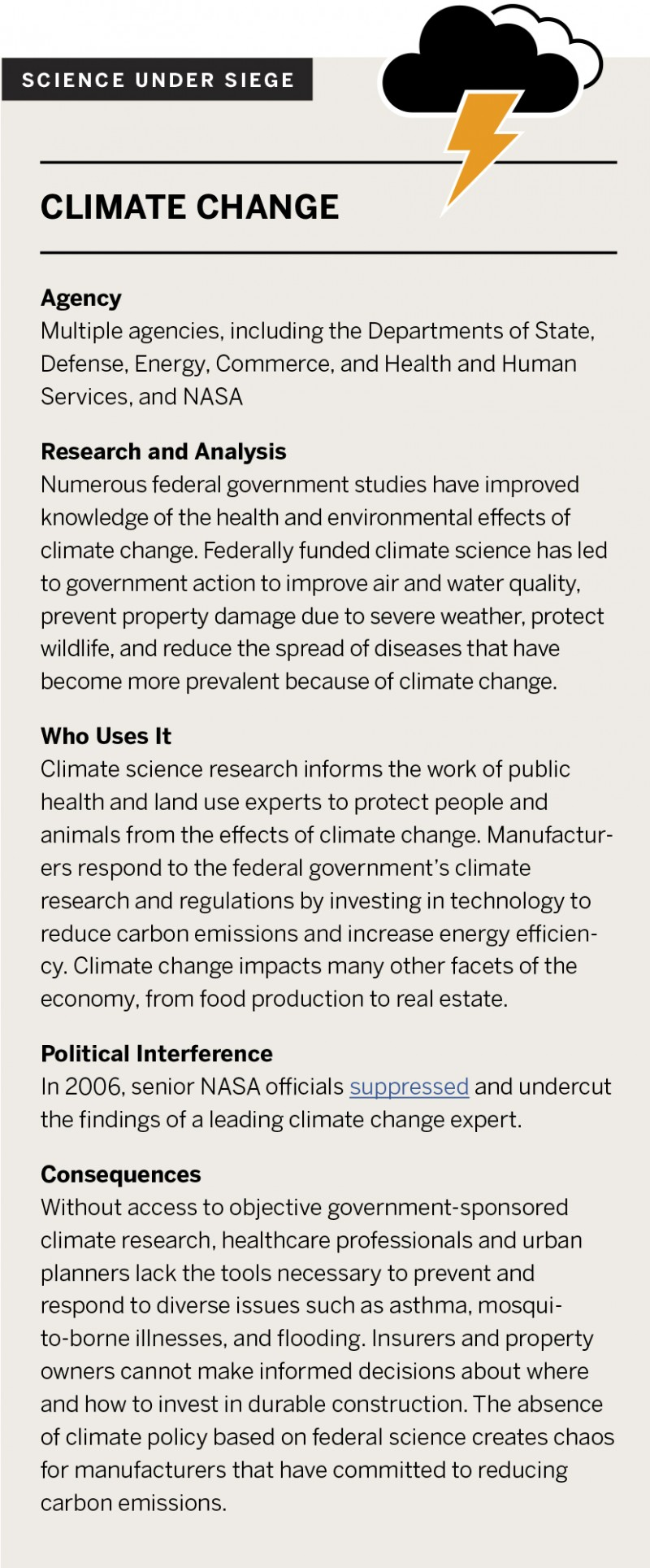 Science Under Seige: Climate Change