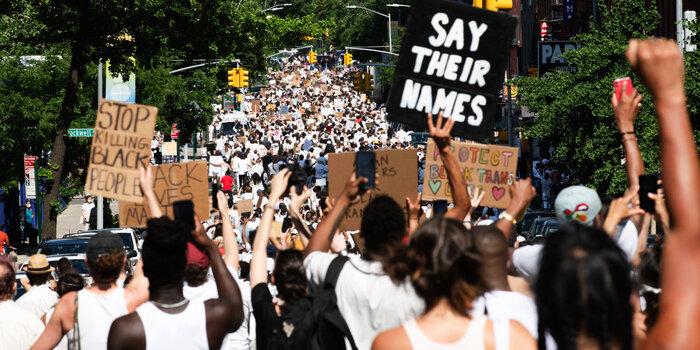 BLM Brooklyn protest